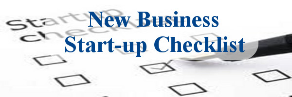 New Business StartUp Checklist  Steps To Starting A Business