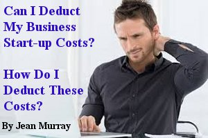 deduct startup business costs