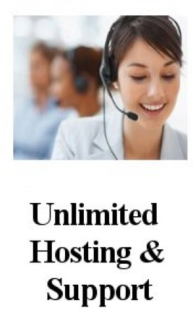 Website Unlimited Hosting & Support Panel